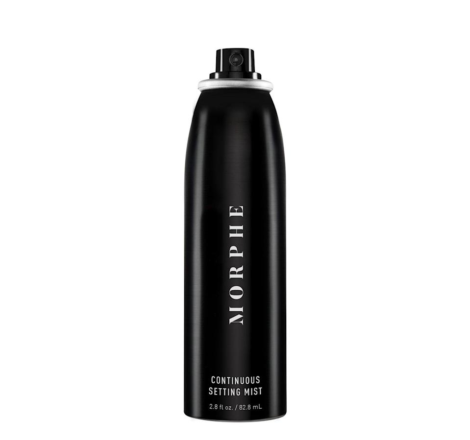 <p>This one's name isn't an exaggeration: the <span>Morphe Continuous Setting Mist</span> ($16) feels like a literal mist on your skin. The formula is super lightweight and works to keep both powder and liquid makeup from melting or making skin feel cakey throughout the day.</p>