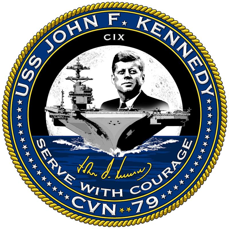 Navy aircraft carrier John F. Kennedy crest seal
