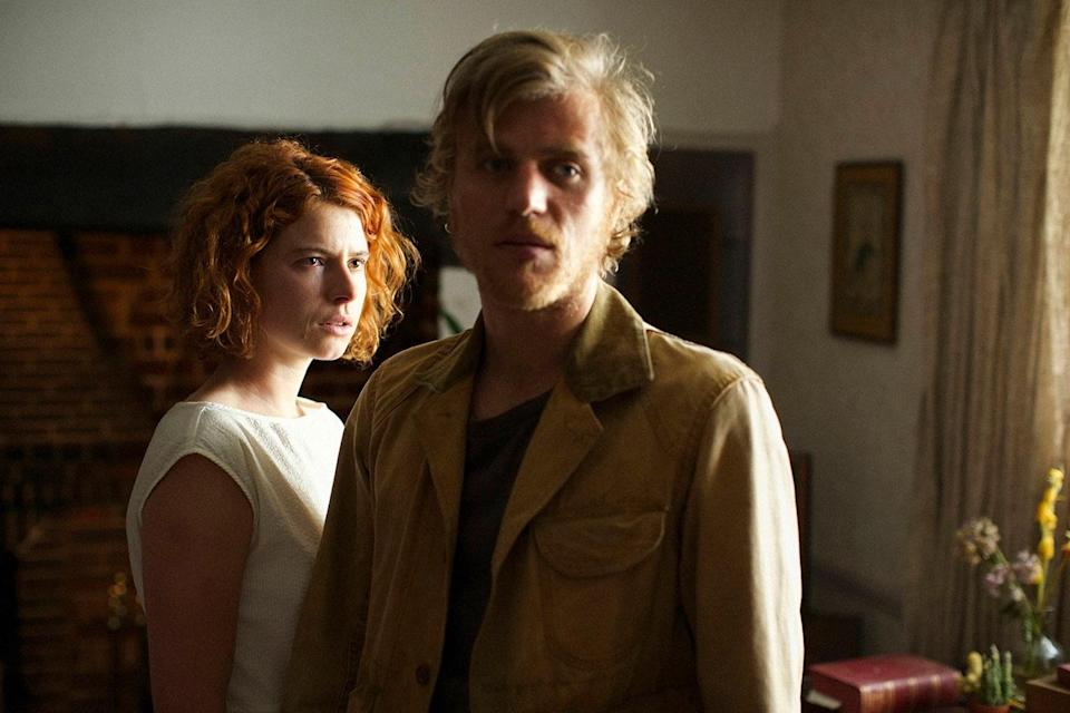Jessie Buckley and Johnny Flynn in a still from 'Beast' (Altitude)