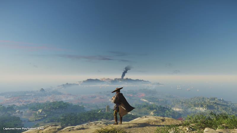 The world of 'Ghost of Tsushima' is as huge as it is gorgeous. (Image: Sony)