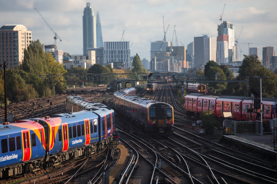 <em>Train disruption is set to hit the Christmas getaway this year (Getty)</em>