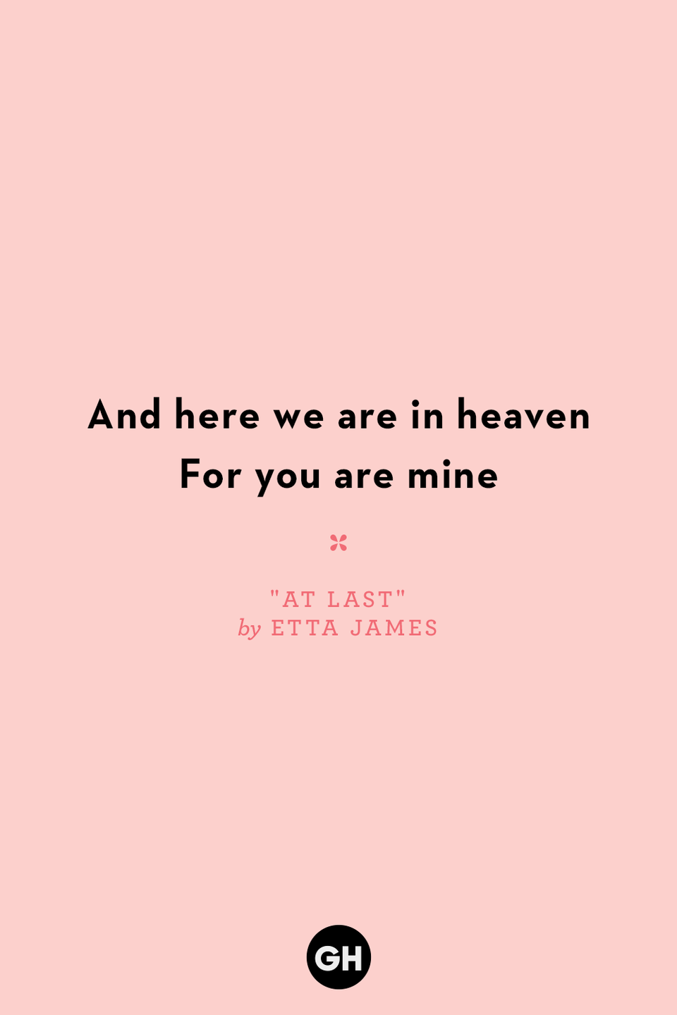 <p>And here we are in heaven</p><p>For you are mine</p>