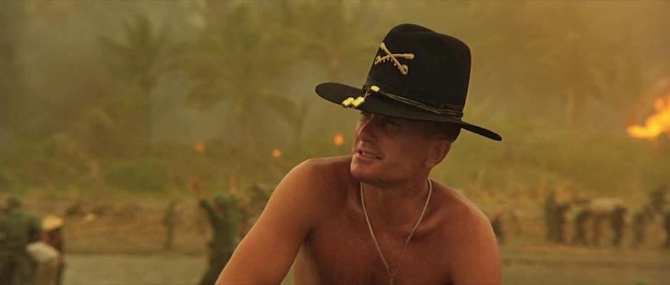 """Sometimes lines get misquoted just for the sake of brevity. Take this classic from <strong>Francis Ford Coppola</strong>'s 1979 epic <em>Apocalypse Now</em>. Lieutenant Colonel Bill Kilgore (<strong>Robert Duvall</strong>) says something about napalm smelling like victory, but it was nowhere near as concise as we all remember. His full quote is a bit more rambling. """"You smell that? Do you smell that? Napalm, son. Nothing else in the world smells like that,"""" he says. He goes on to talk about bombing a hill for twelve hours and their enemies being wiped out. """"The smell, you know, that gasoline smell,"""" he continues. """"The whole hill. Smells like… victory."""