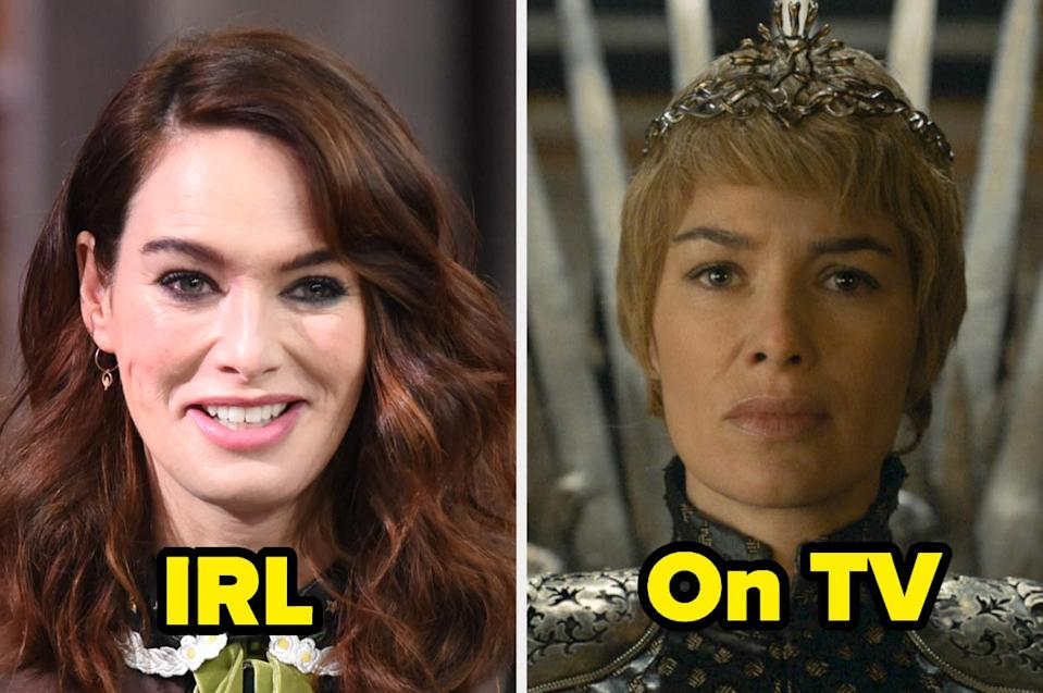 """<div><p>""""Lena has the coolest style, totally rocks those tattoos, and is also obviously incredibly talented. That's probably why I despise Cersei so much — she acted the hell out of that role.""""</p><p>—<a href=""""https://www.buzzfeed.com/emmanz"""" rel=""""nofollow noopener"""" target=""""_blank"""" data-ylk=""""slk:Bagel"""" class=""""link rapid-noclick-resp"""">Bagel</a></p></div><span> Getty Images / HBO</span>"""