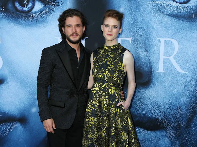 Kit Harington and Rose Leslie engaged - report