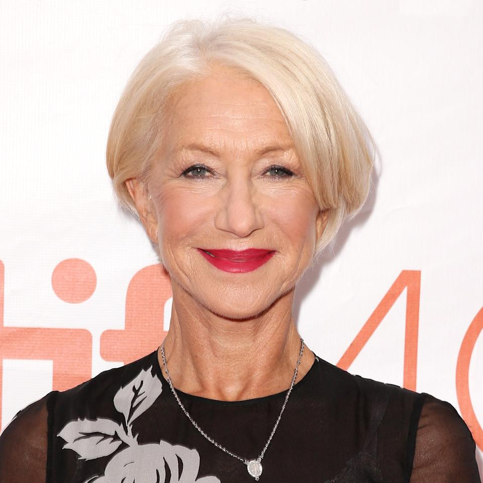 <p>Upon arriving at the Toronto International Film Festival premiere for <em>Eye in the Sky,</em> Mirren's hair and makeup were perfectly on-point.</p>