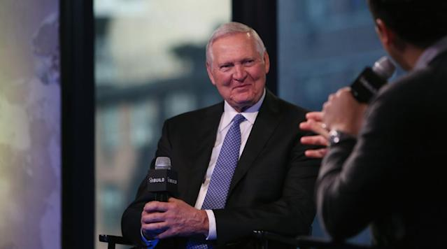 Jerry West, whose silhouette is the basis for the NBA's iconic logo, wishes the NBA would change to a new logo.