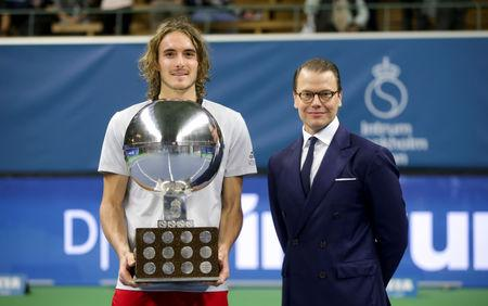 Tsitsipas claims maiden ATP title in Stockholm