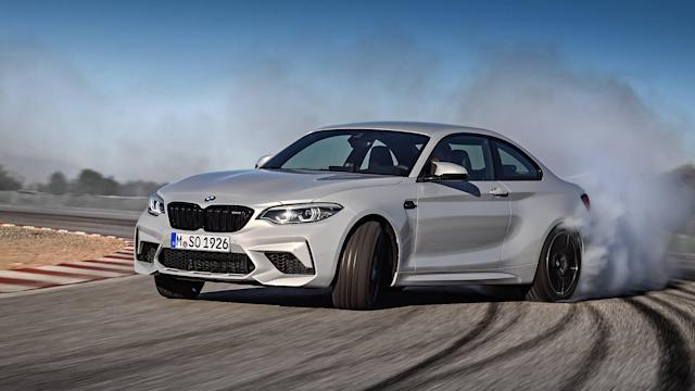 "<p><a href=""https://www.motor1.com/bmw/"" rel=""nofollow noopener"" target=""_blank"" data-ylk=""slk:BMW"" class=""link rapid-noclick-resp"">BMW</a> still caters to enthusiasts with offering a manual transmission on its purest sports cars, such as the <a href=""https://www.motor1.com/bmw/m2/"" rel=""nofollow noopener"" target=""_blank"" data-ylk=""slk:M2"" class=""link rapid-noclick-resp"">M2</a> coupe. The M2 is one of BMW's most pure driving machines it offers right now, combing performance and its two-door packaging into one menacing vehicle. In the M2, the six-speed manual pairs with a biturbocharged 3.0-liter straight-six engine producing 365 horsepower and 343 pound-feet of torque. BMW claims the M2 with the manual is 0.02 seconds slower to 60 miles per hours (4.3 seconds); however, there is a joy in shifting gears.</p>"