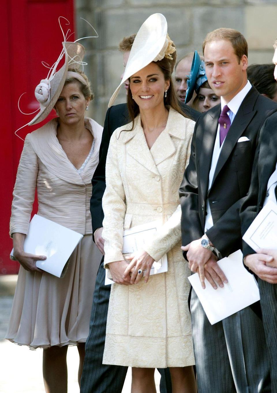 <p>Did Kate break the wedding style rules when she wore ivory to Zara Tindall's big day?</p>