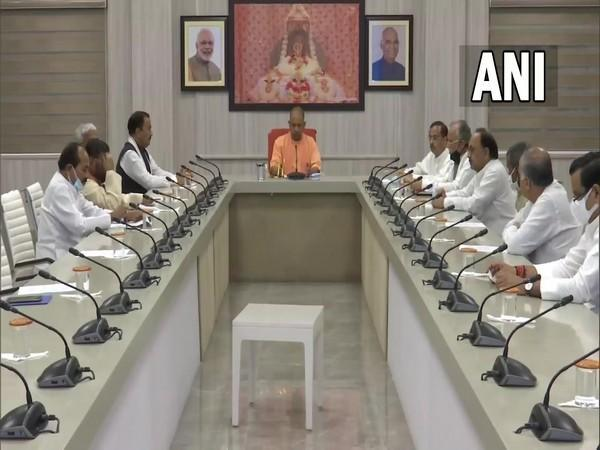UP Cabinet meets to condole the demise of Kalyan Singh