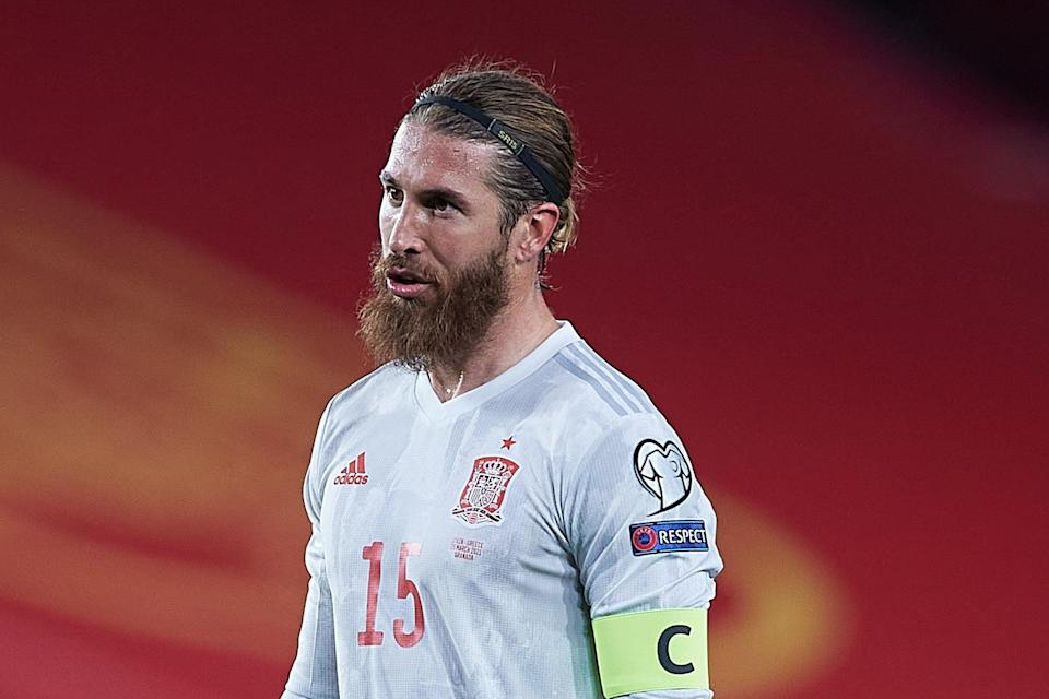 <p>Sergio Ramos will NOT play for Spain at Euro 2020</p> (Getty Images)