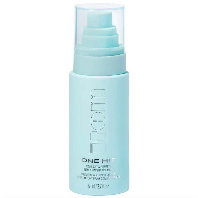 Item Beauty One Hit Clean Dewy Setting Spray with Rose Water. Image via Sephora.