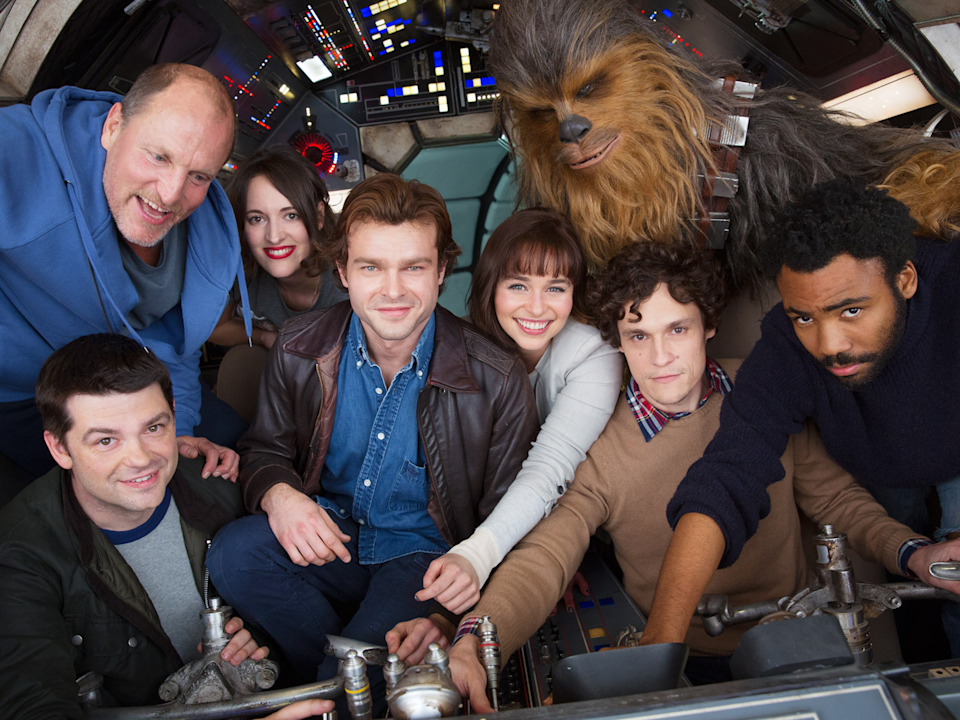 han solo cast photo