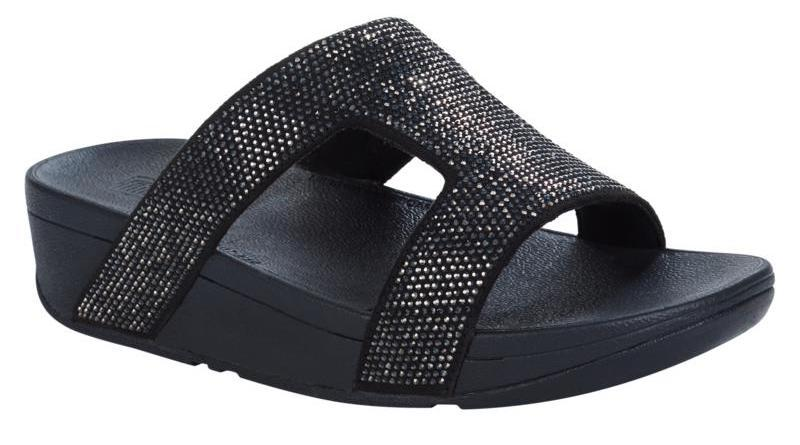 FitFlops Crystal Sandal Slide-style. (Photo: HSN)