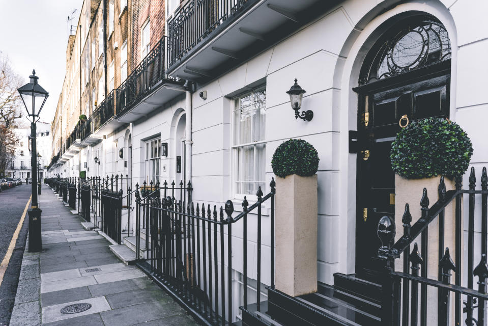 Average rents in the City of London, Kensington and Chelsea, and Westminster, were running at their lowest for a decade. Photo: Getty Images