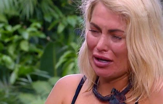 Keira's been having a hard time of it in the jungle. Source: Channel Ten