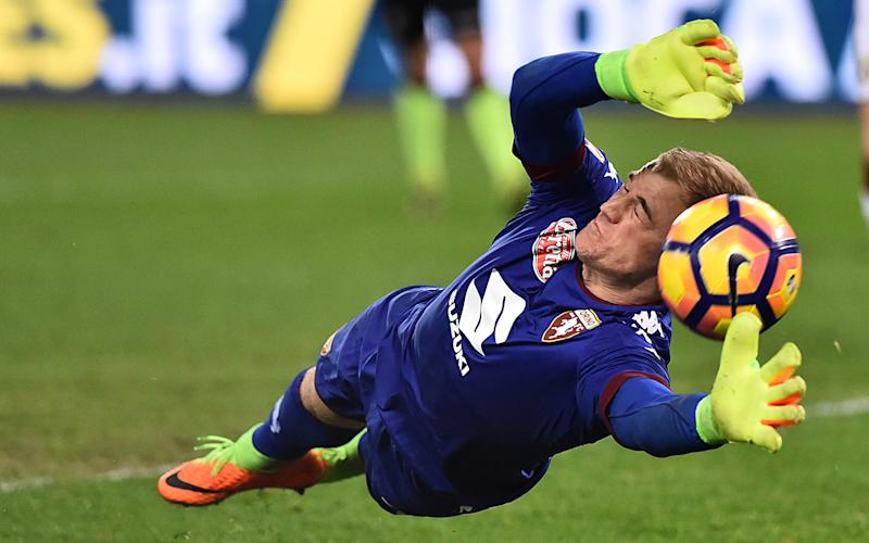 Hart's form compares favourably to his City successor Claudio Bravo - Credit: REX