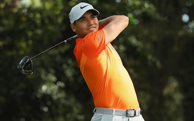 <span>Jason Day remains at six over</span> <span>Credit: Andrew Redington/Getty Images </span>