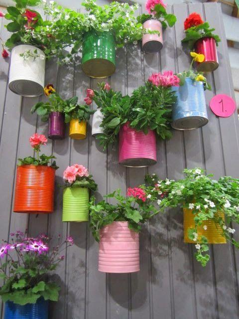 <p>Spruce up your boring garden fence by creating a feature, just let your creative juices flow. [Photo: B&Q] </p>