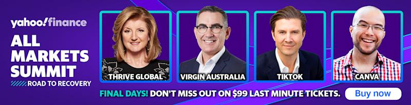 Your last chance to register for Yahoo Finance's All Markets Summit 2020.