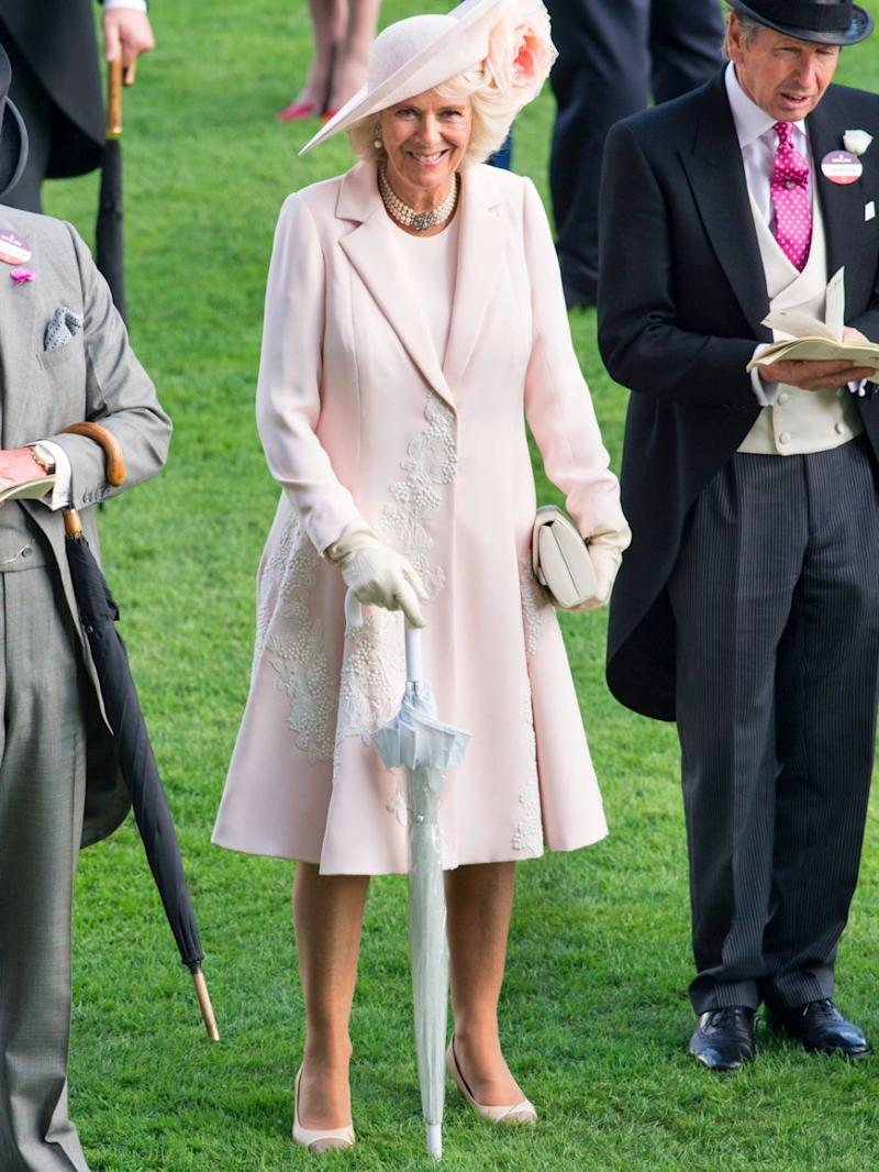 Their step-mother Camilla was off limits. Photo: Getty Images