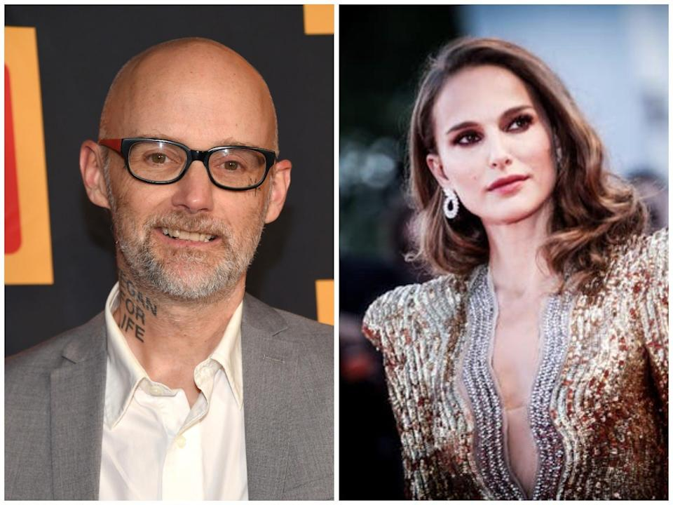 Moby and Natalie Portman (Shutterstock/Getty)
