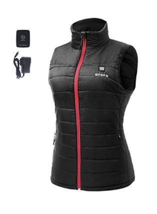 "Buy <a href=""https://www.amazon.com/Womens-Weight-Insulated-Heated-Battery/dp/B01H50RF46/ref=sr_1_7?ie=UTF8&qid=1510000256&sr=8-7&keywords=heated+clothing"" target=""_blank"">Ororo women's vest with battery pack</a> for $105.99."