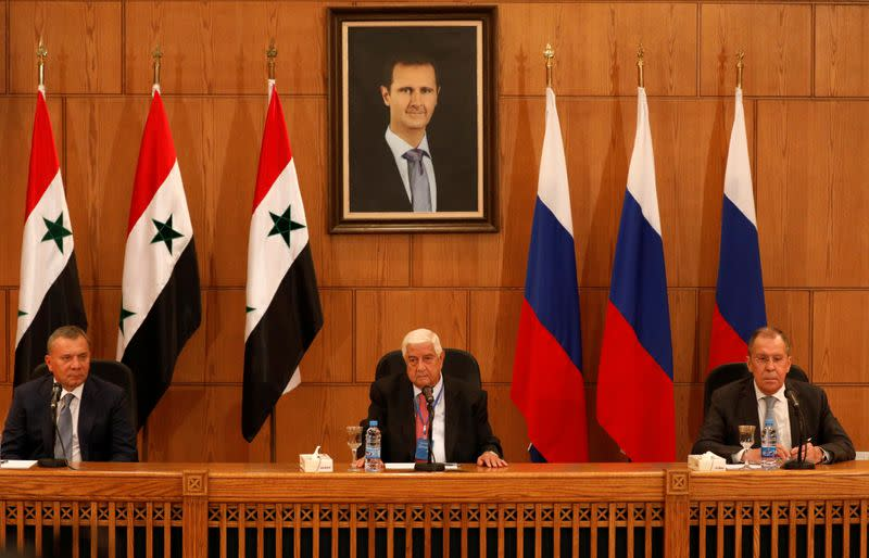 Syria seeks more Russian investment as U.S. sanctions hammer economy
