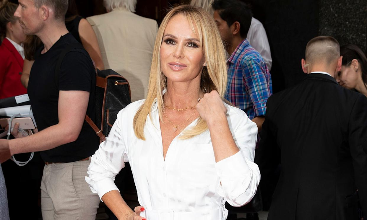 """The prolific <em>Britain's Got Talent</em> judge and radio host has long been a person of interest in the UK. She's also been involved in some celeb drama this year as she's spoken openly about her feud with Phillip Schofield after he allegedly prevented her from getting a spot on <em>This Morning</em> while Holly Willoughby was off in the Australian jungle this year. She also hasn't held back in <a href=""""https://uk.news.yahoo.com/amanda-holden-claims-people-have-found-the-tin-opener-on-phillip-schofield-rumours-130116639.html"""">chiming in on the latest ITV backstage rumours</a>, either. (John Phillips/Getty Images)"""