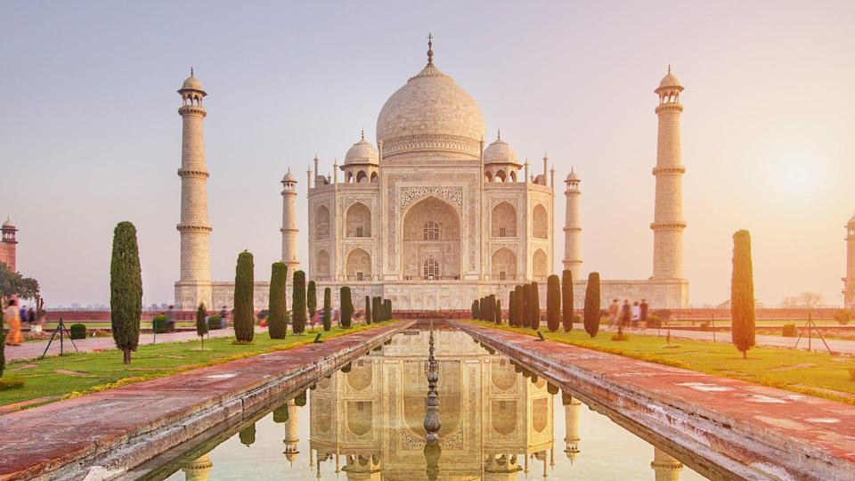 The Taj Mahal dates back to the 1600s and is a UNESCO World Heritage site.