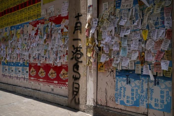 """The Wider Image: In a scarred Hong Kong, """"beautiful things are gone\"""