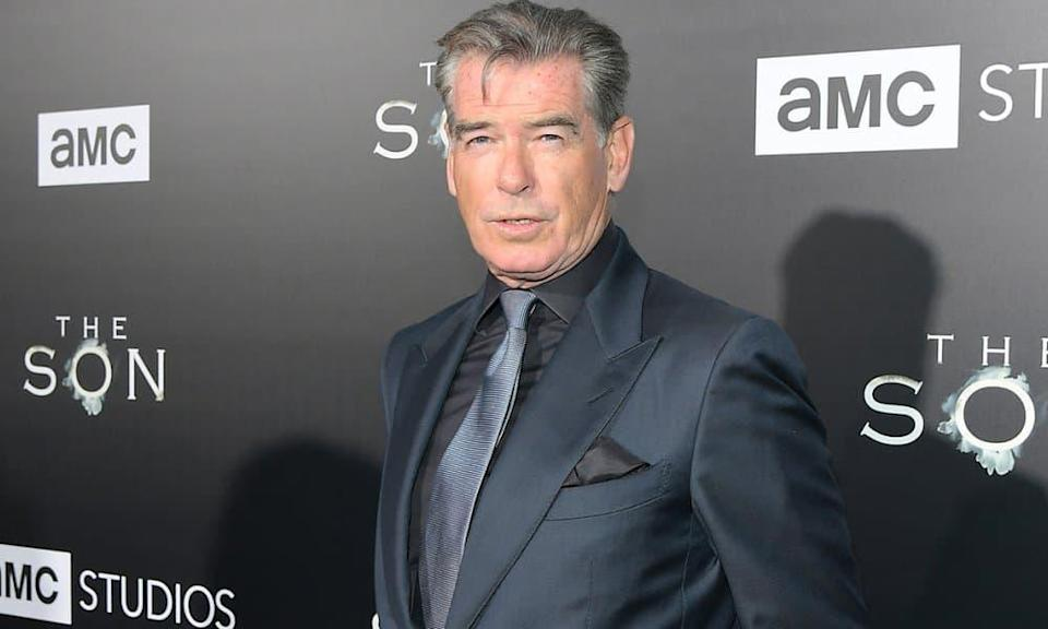 Pierce Brosnan en avril 2017 à Hollywood.  - Charley Gallay - Getty Images North America - AFP