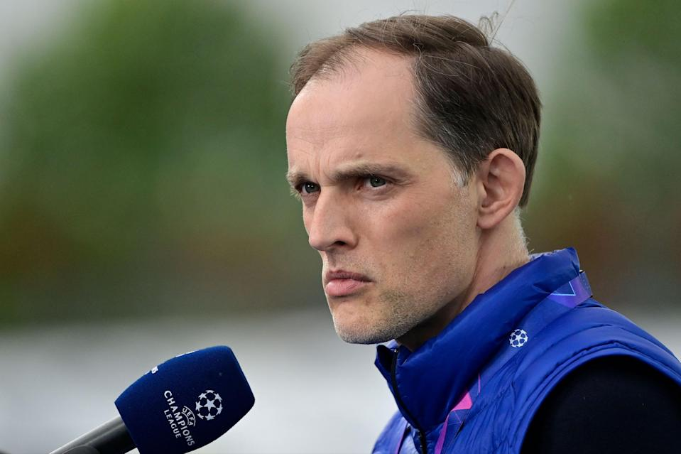 """<p>Tuchel: """"There is no time for this right now.""""</p> (AFP via Getty Images)"""