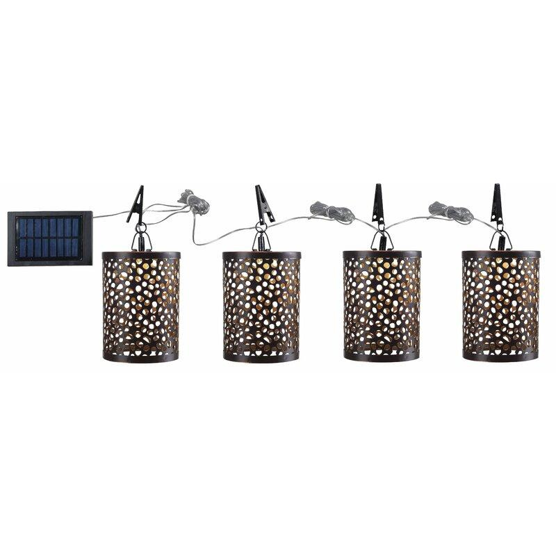 Umbrella Solar Powered LED Pathway Light. Image via Wayfair.