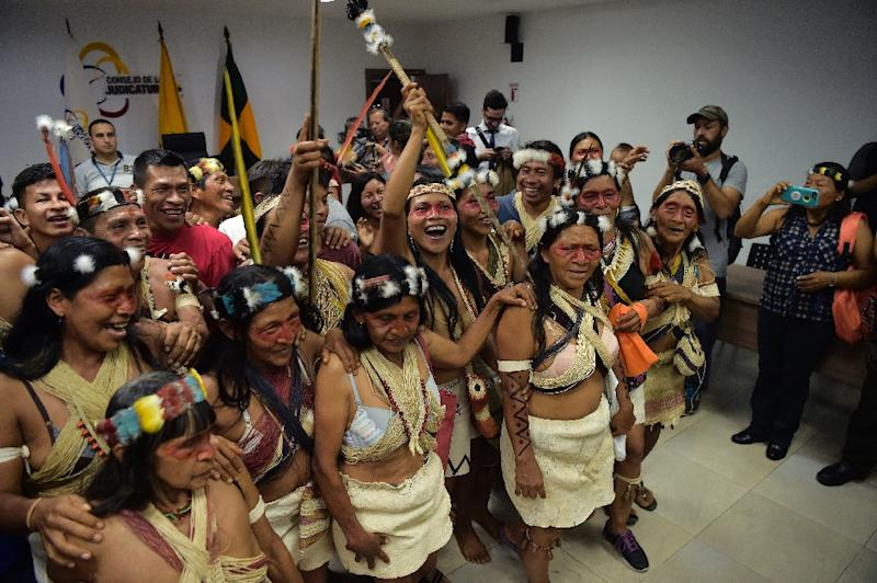 After two weeks of deliberations, a criminal court in Puyo, central Ecuador, on Friday accepted a Waorani bid for court protection in Pastaza province to stop an oil bidding process after the government moved to open up around 180,000 hectares for exploration