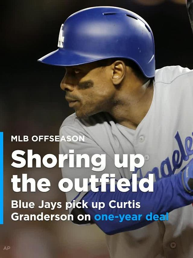 Blue Jays pick up Curtis Granderson on one-year deal to shore up outfield