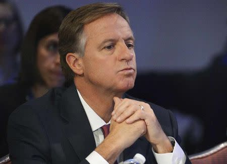 File photo of Tennessee Republican Governor Haslam listening during the National Governors Association Winter Meeting in Washington
