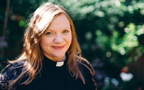 Rev Kate Bottley is the only ordained presenter on Songs of Praise