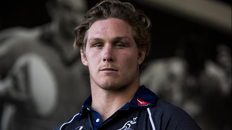 RUGBY WALLABIES MICHAEL HOOPER SIGNING