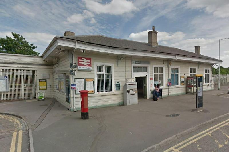 The incident happened at South Croydon station: Google Streetview