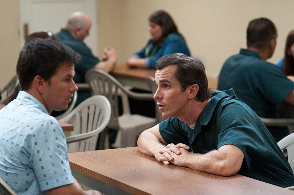 """<a href=""""http://movies.yahoo.com/movie/contributor/1800019716"""">Mark Wahlberg</a> and <a href=""""http://movies.yahoo.com/movie/contributor/1800018597"""">Christian Bale</a> in Paramount Pictures' <a href=""""http://movies.yahoo.com/movie/1810155439/info"""">The Fighter</a> - 2010"""