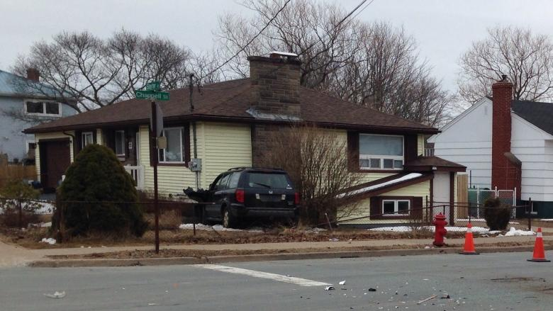 Police believe SUV that slammed into Dartmouth home was stolen