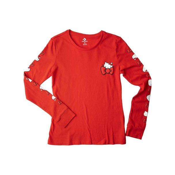 PHOTO: The new Converse Hello Kitty Long Sleeve Tee for ladies. (Journey's)