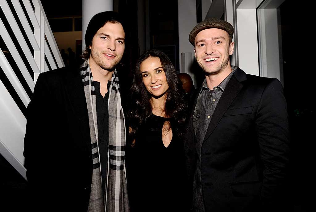 "Star-studded parties all over Dallas, Texas, attracted Hollywood's A-List as Super Bowl XLV festivities kicked off early in anticipation of the championship game on Sunday. Ashton Kutcher, Demi Moore, and Justin Timberlake were spotted catching up at the Audi bash Friday night. Michael Buckner/<a href=""http://www.gettyimages.com/"" target=""new"">GettyImages.com</a> - February 4, 2011"