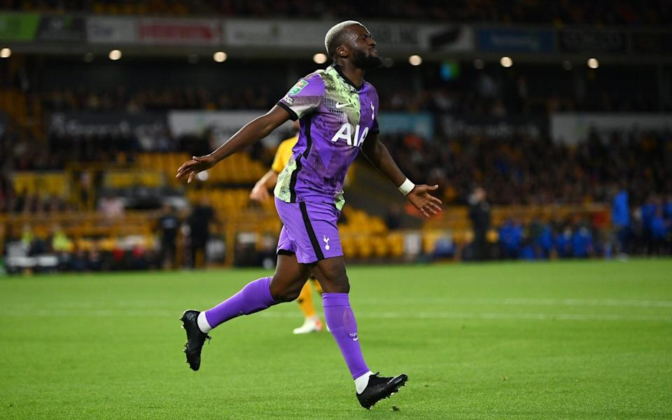 Tanguy Ndombele fired Spurs into a first-half lead - GETTY IMAGES