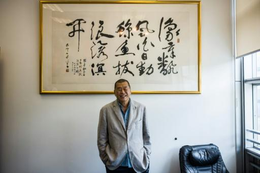 """Self-described """"troublemaker"""" Jimmy Lai"""
