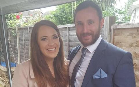 Ellie Milward, 29, and her husband Jonathan Udall, 32, have been injured in the crash