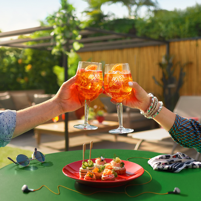 <p>Aperol Spritz fans can upload their receipts for an £8 refund </p> (Aperol )