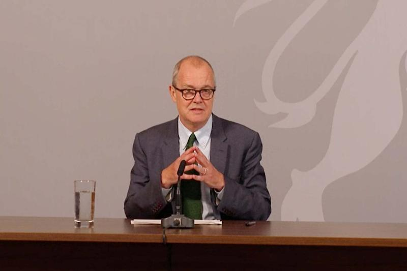 UK could face 50,000 Covid cases and 200 deaths a day if surge in infections continues, Sir Patrick Vallance warns